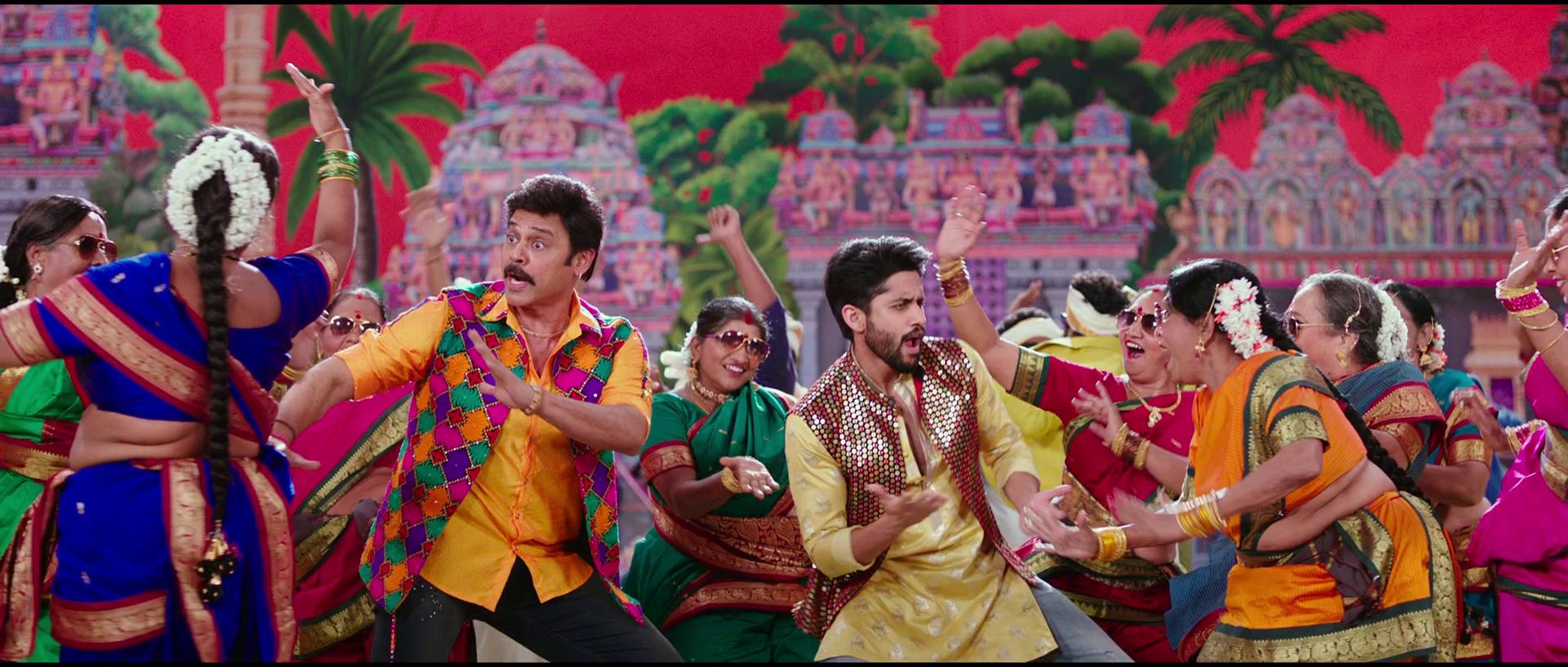 Venky Mama (2019) 1080p WEB-DL H264 DD5 1 Esubs [Dual Audio][Hindi+Telugu] DUS Exclusive
